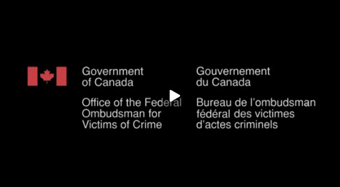 Video message from the Federal Ombudsman for Victims of Crime